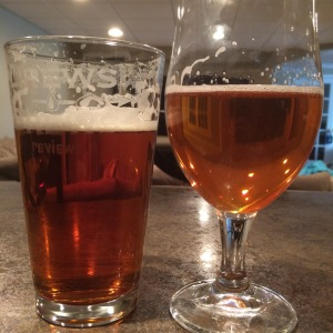 Nugget on left, Hopslam on right